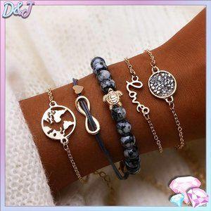 💎✨ Wanderlust Bracelet Set